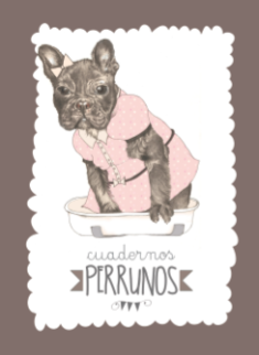 Cuaderno Perruno_Bulldog_Editorial Chocolate
