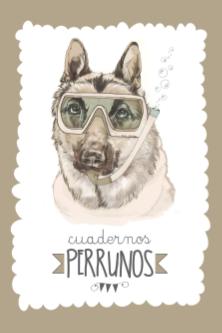 Cuaderno Perruno_Pastor Alemán_Editorial Chocolate